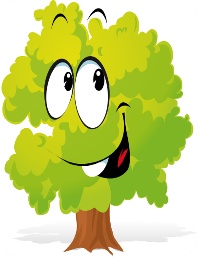 Happy Tree Graphic