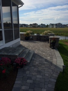 STI Landscaping Waterfront Patio
