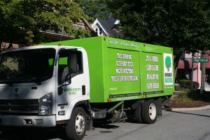 Sussex Tree & STI Landscaping Truck