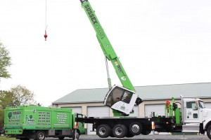 Crane at Sussex Crane Company in use